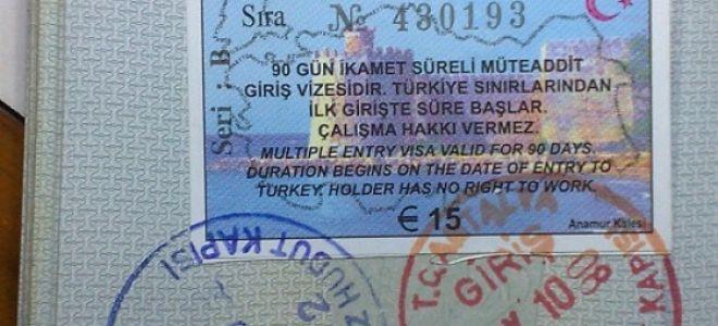 Оформление визы в Турцию для россиян