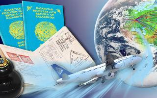 Полный список безвизовых стран для граждан Казахстана