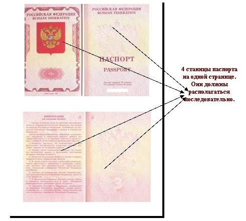 как делать ксерокопию паспорта
