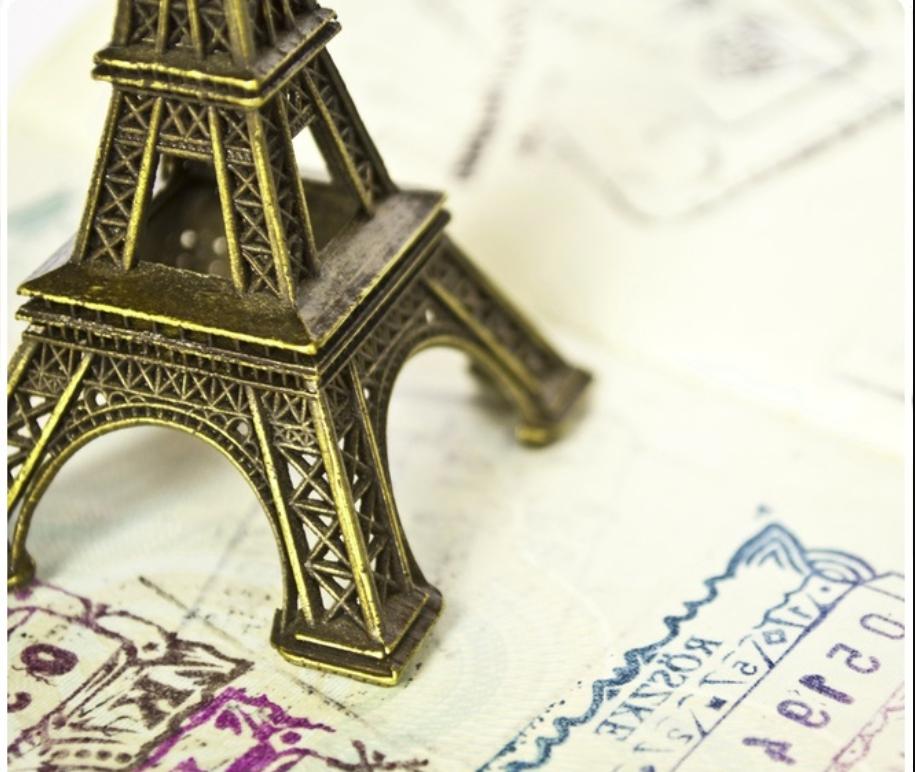 Отслеживание французской визы на сайте