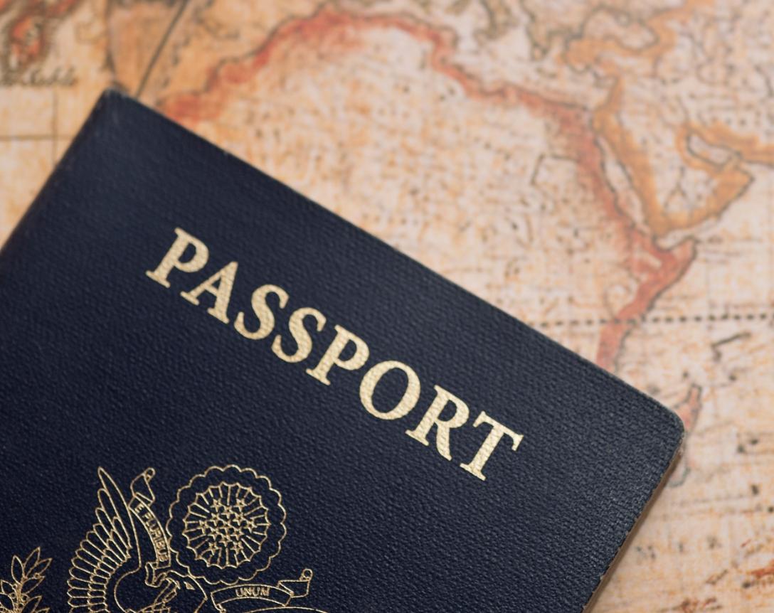 паспорт для оформления визы