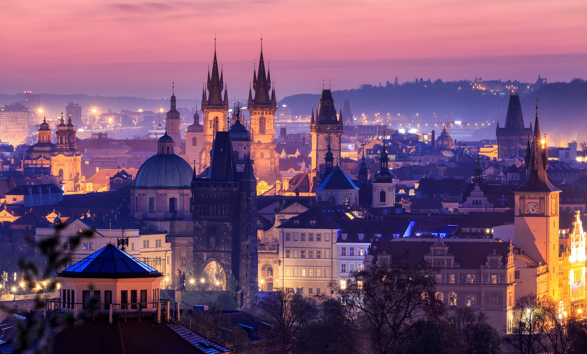проживание в чехии